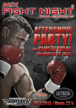 MMA Aftershow Party Wels