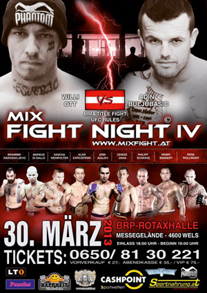Mix Fight Night Wels